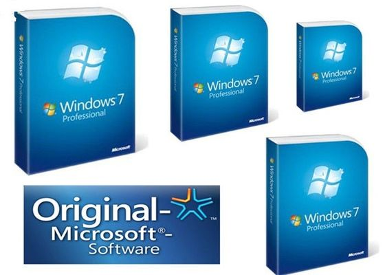 Chine Boîte au détail professionnelle de Windows 7 de version au détail de paquet, pro 64 bit de Windows 7 DVD fournisseur