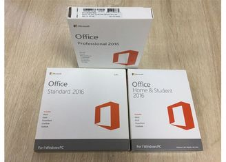 Chine Maison d'OEM Microsoft Office 2016 des affaires PKC, version de vente au détail d'autocollant de Coa de Microsoft fournisseur