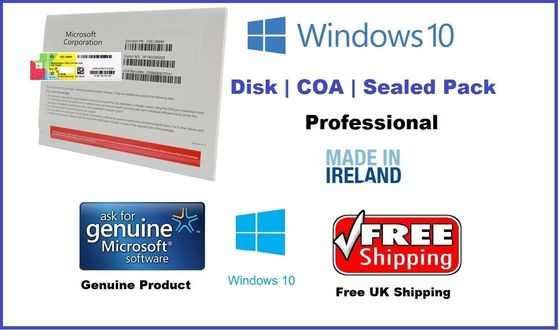 Chine Code principal original de Singapour/d'Irlande Windows 10 avec huit langues usine