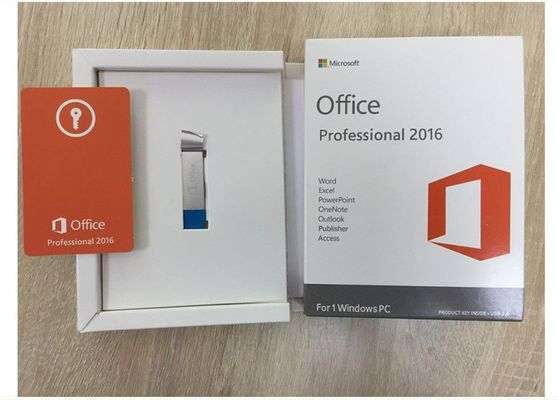 Chine Professionnel de Microsoft Office de l'anglais plus 2016, label d'autocollant de clé de produit de Windows usine