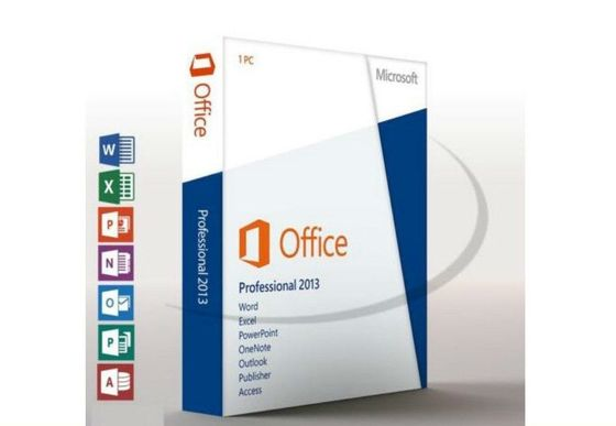 Version au détail de professionnel original de l'Irlande Microsoft Office 2013 pleine