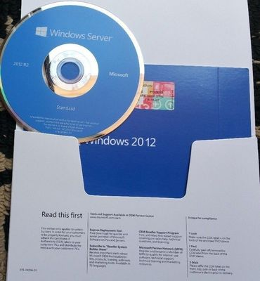 PAQUET d'OEM anglais standard de 5 de CALS Microsoft Windows versions R2 DVD du serveur 2012